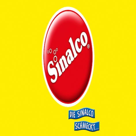 Das Sinalco schmeckt Logo.